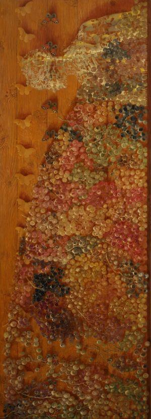 """Arturas Aliukas """"Rudens lygiadienis""""  2012, 67 x 186 cm."""