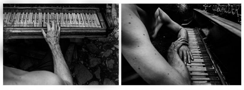 """Liucija Karalienė fotografija """"Pianistas"""", Canon 6 D, sukūrimo metai 2018 m."""