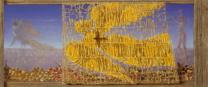 """Arturas Aliukas """"Sirenai""""  2010, 63 x 150 cm."""