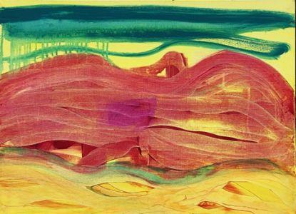 """Jolita Lubienė paveikslas """"---"""" atlikimo technika akrilas, drobė, Sukūrimo metai, paveikslo matmenys 60X70 cm."""