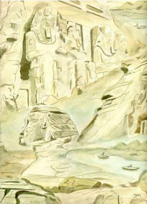 Sfinksas ir Abu Simbel