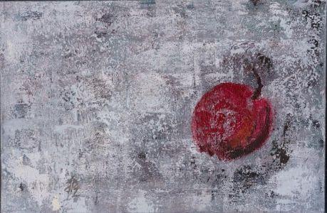 "Jurgita Pakerytė - Ziabliceva. ""Obuolys"", 40 X 60 cm. 2016 m. 170 Eur."