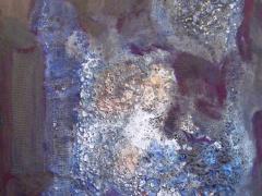 """Egidija Brinkytė iš ciklo """"Tytuvėnų sakralinio ansamblio gaisras"""", MDP, emaliniai , aliejiniai dažai, 120 X 90 cm. 2015 m. 500 €."""