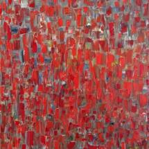 Deivis Slavinskas. ''The well of dreams''. Acrylic on the canvas. Size 100 X 150 cm. 2014-2015.
