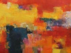 """Hiroshi Matsumoto paveikslas 2014 - 8"""", paveikslo formatas 172 X 75 cm. Drobė, aliejus. Japonija."""