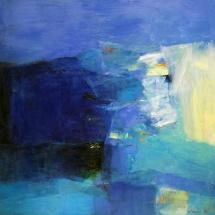 Hiroshi Matsumotto. Painting. 2015-3. Size 145,4 X 72,7 cm. Canvas, oil. Japan.