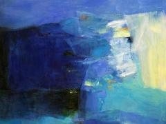 Hiroshi Matsumoto paveikslas gruodis 2009, paveikslo formatas 72,7 X 72,7 cm. Drobė, aliejus. 2009 m.
