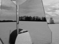 """Alis Balbierius. Fotografija iš serijos """"Sniegas ir veidrodžiai"""". 2009 m."""