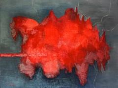 """Rūtos Levulienės paveikslas """"Perkrovai""""."""