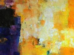 """Hiroshi Matsumoto paveikslas """"2014 - 3 """"spalis. Paveikslo formatas 60,6 X 91 cm. 2014. Japonija."""