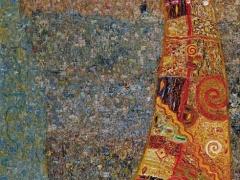 """Arūnas Žilys """"Balansas"""" 150 X 50 1998"""