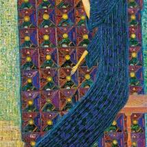 Arūnas Žilys. ''Won't catch''. Size 110 X 130 cm. 2001.