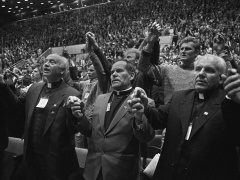 Romualdas Požerskis.  Fotografija. Sąjūdžio suvažiavimas. 1988-10-23.