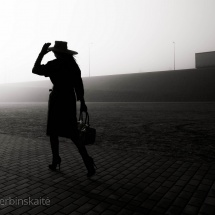 Eglė Ščerbinskaitė. Photograph from the serie ''Silhouette''. Print work. Size 90 X 90 cm. Price 300 Eur.