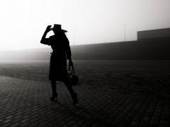 """Eglė Ščerbinskaitė fotografija iš serijos """"Siluetas"""". Spauda.  Matmenys 90 X 90 cm. Kaina 300 €"""