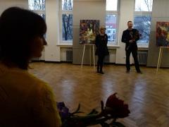 Edmundo Kartano tapybos parodos atidarymas. Tautos namai, Kaunas, 2016