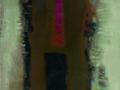 """Audrius Gražys """"Tėkmė"""", 1994 m. Drobė, aliejus 80 X 70 cm."""