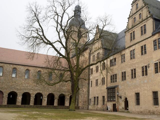 Istorinė baronų Miunhauzenų šeimos pilis (Leitzkau, Vokietija). Iridijaus Švelnio fotografija.
