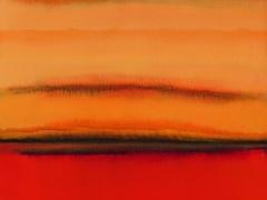 """Audrius Gražys. Iš ciklo """"Toliai"""" 100 X 60 cm, 2005 m. Drobė, aliejus"""