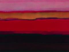 """Audrius Gražys. Iš ciklo """"Toliai"""" 80 X 70 cm, 2004 m., Drobė, aliejus"""