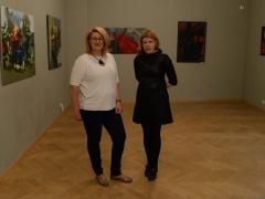 Su tapytoja Rūta Levuliene, fotografavo Antanas Untydi