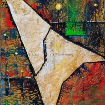 Edmundas Kartanas. Painting ''Spot''. Canvas, oil. Size 50 X 70 cm. Price 350 Eur.
