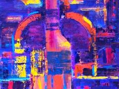 """Edmundas Kartanas paveikslas """"Brendis"""", drobė, aliejus, matmenys 60 X 90 cm. Kaina 250€"""