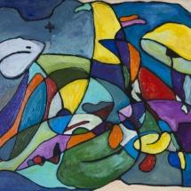 Raminta Ardzevičienė. ''Kemala''. Canvas, oil. Size 30 X 40 cm. Price 250 Eur.