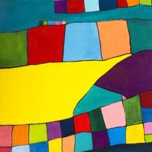Raminta Ardzevičienė. ''Composition''. Canvas, oil. 2015. Price 450 Eur.