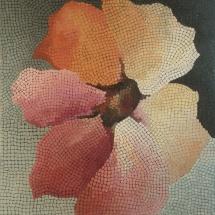 Dalia Kirkutienė. ''Clarity (Blossom)''. Size 80 X 100 cm. Author technique, unframed. Price 700 Eur.