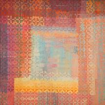 Dalia Kirkutienė. ''Windowsill''. Size 100 X 100 cm. Author technique, unframed. 2013. Price 960 Eur.