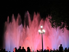 """Vida Rastauskaitė- Korn fotografija iš Serijos """"Magiški fontanai"""" /""""photography from the serie """"Magical fountains"""" 40 X 60 cm. 2016 m. Price  80 Eur."""