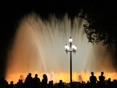 "Vida Rastauskaitė- Korn Vida Rastauskaitė- Korn fotografija iš Serijos ""Magiški fontanai"" /""photography from the serie ""Magical fountains"" 40 X 60 cm. 2016 m. Prize 80 Eur."
