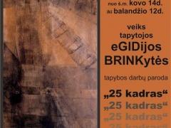 Egidija Brinkytė. 25 -as kadras.