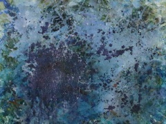 """Kristina Čivilytė. """"Paukščių takas"""" (akrilas, drobė, 60x60, 2016) Kaina 450 Eur."""