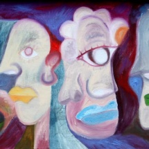 "Tobias Biering. ""Dream of Colours"". 40 x 110 cm, canvas, oil, 2014. Price – 675 EUR"
