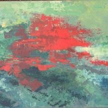 """Jurgita Pakerytė-Ziabliceva """"Earth – Planet of People"""", 100 x 70 cm, 2016. Price – 200 EUR"""