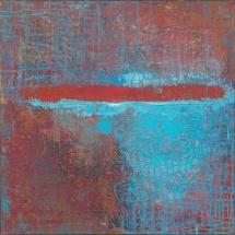 "Jurgita Pakerytė-Ziabliceva ""Autumn Blues"", 60 x 60 cm, 2016. Price – 190 EUR"