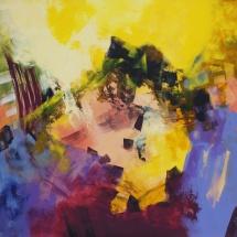 Rita Rimšienė. ''Pink dreams''. Canvas, acrylic. Size 110 X 90 cm. 2015. Price 900 Eur.