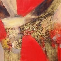 Rita Rimšienė. ''Mysticism''. Canvas, acrylic. Size 100 X 120 cm. 2015. Price 700 Eur.