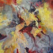 Rita Rimšienė. ''Merger''. Canvas, acrylic. Size 120 X 150 cm. 2016. Price 900 Eur.