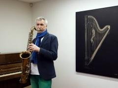 Saksofonistas Aleksandras Lakšmanas fotografavo Grafas Paulius