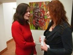 Kristina MV ir svečiai fragmentai iš fotomenininko Iridijaus Švelnio parodos atidarymo