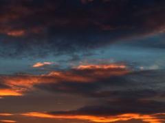 """Feliksas Kerpauskas """"Fotografija pro Šilainių buto langą Nr. 16""""iš ciklo """"Lietuvos debesys"""""""