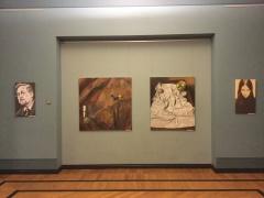 Fragmentai iš Gintaro Zubrio ir Žydrūno Šlajaus parodos fotografavo Gabrielė Kuizinaitė