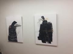 Fragmentai iš tapytojos Dalios Kirkutienės parodos fotografavo Gabrielė Kuizinaitė