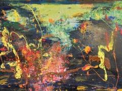 """Zita Virginija Tarasevičienė """"Talija"""" paveikslo matmenys 150X180 cm. Paveikslo kaina 800 Eur."""