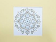 """Eglė Kalibataitė paveikslas iš ciklo """"Mandala"""", paveikslo matmenys 40X40 cm. Paveikslo kaina 90 Eur."""