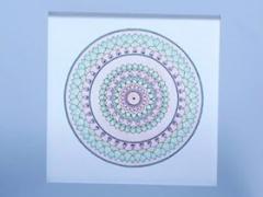 """Eglė Kalibataitė paveikslas iš ciklo """"Mandala"""". Paveikslo matmenys 40X 40 cm. Paveikslo kaina 80 Eur."""