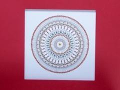"""Eglė Kalibataitė paveikslas iš ciklo """"Mandala"""" paveikslo matmenys 40X40 cm. paveikslo kaina 90 Eur."""